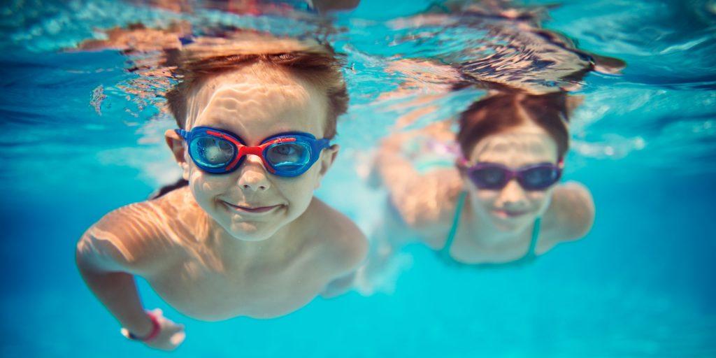 Swimming Glass Enclosure